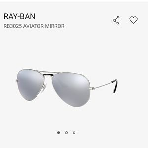 Ray-Ban Accessories - RAY-BAN RB3025 AVIATOR MIRROR